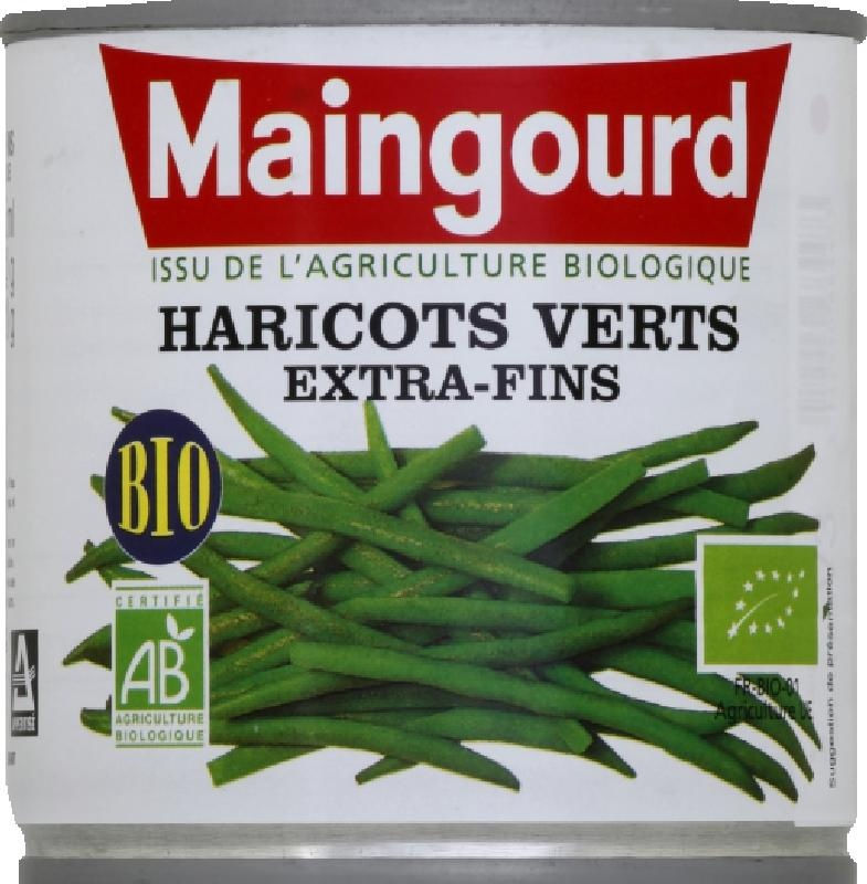 Haricots verts extra-fins 220g