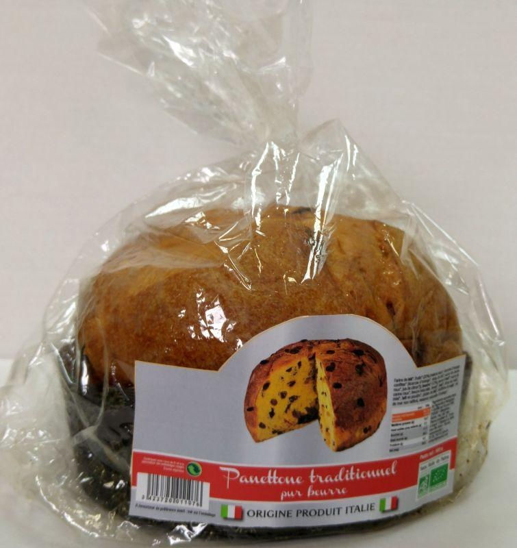 Panettone traditionnel pur beurre 500g