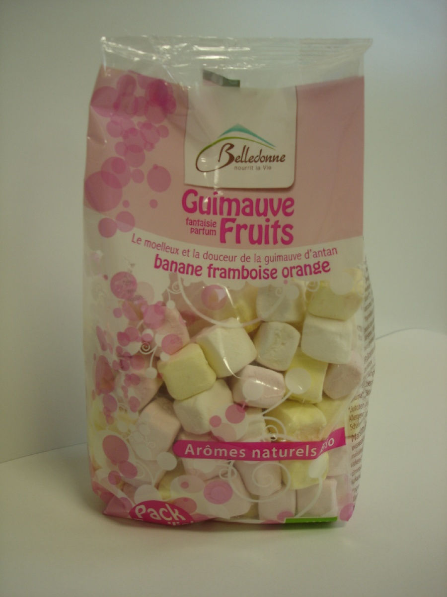 Guimauve fruits cubes 180g