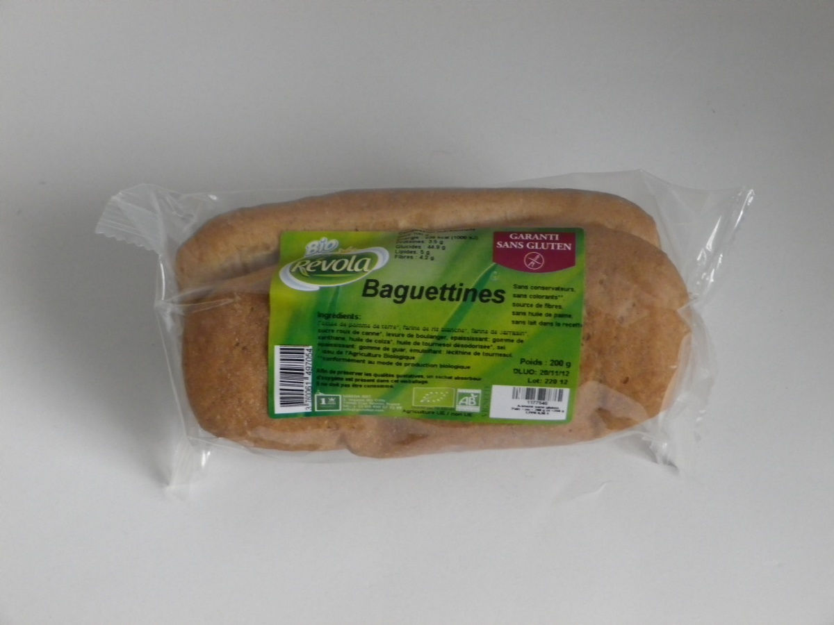 Pain baguettines (2) 200g